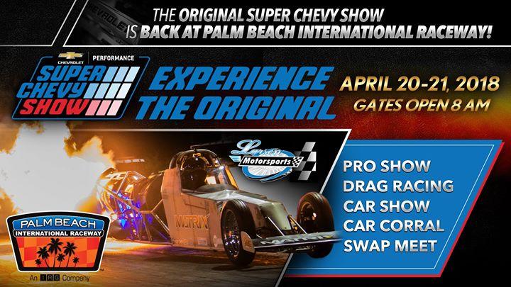 The Original Super Chevy Show AutoShowsOnlinecom - Palm beach car show 2018
