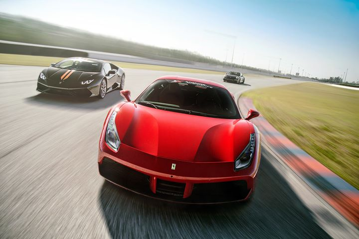 Drive Exotic Cars On Race Track Florida