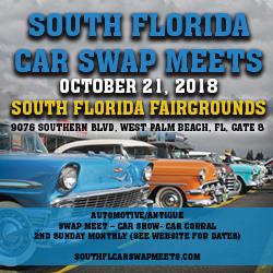 South Florida Car Swap Meets Oct West Palm Beach - Car show west palm beach